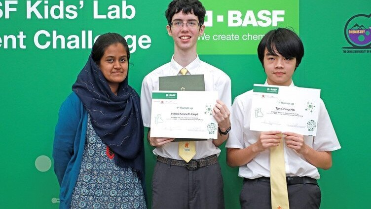BASF Kids' Lab Challenge - 1st Runner Up