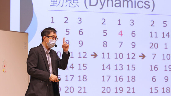 "4 March 2021 - ""Games in Mathematics"" Maths Talk by Professor Michael Ng (HKU)"